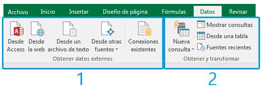 Análisis de datos con Excel